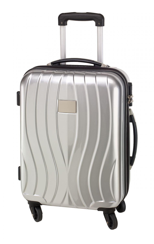 handgep ck 55cm bordcase trope silber trolley 30l. Black Bedroom Furniture Sets. Home Design Ideas