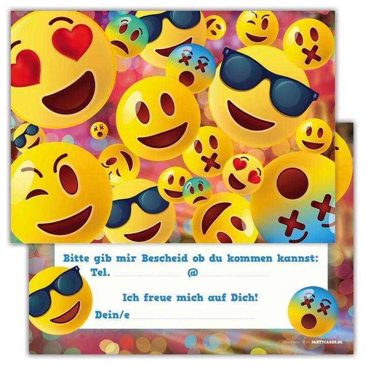 6 einladungskarten party kindergeburtstag jungen mädchen