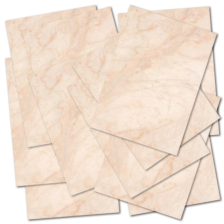 Brief Altes Papier Vintage Din A4 als Einladung Urkunde 50 Blatt Briefpapier