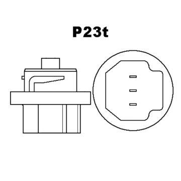 2 x P23t HS5 Birne Halogen Lampe Motorrad Roller 55//35W Glühbirne 12V