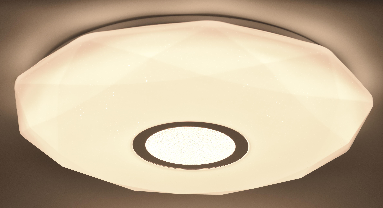 miniature 10 - Plafonnier LED Salon Chambre à Coucher Ciel Étoilé Télécommande 48W Dimmable