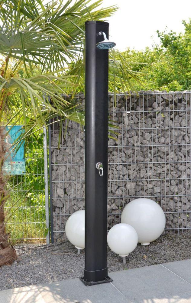 aktion solardusche welasol solar gartendusche warmwasser dusche gardena anschlu ebay. Black Bedroom Furniture Sets. Home Design Ideas