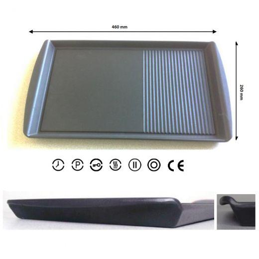 plancha grill xxl grillplate vlano induktion gas ceran kochfeld grillen ebay. Black Bedroom Furniture Sets. Home Design Ideas
