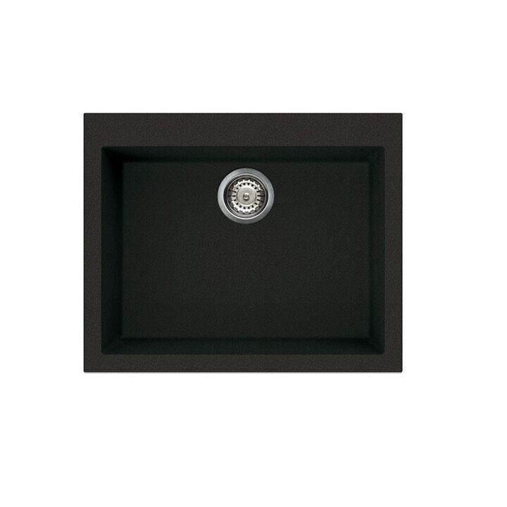 Einbecken Granitspüle Küchenspüle Einbauspüle ELLECI QUADRA 50