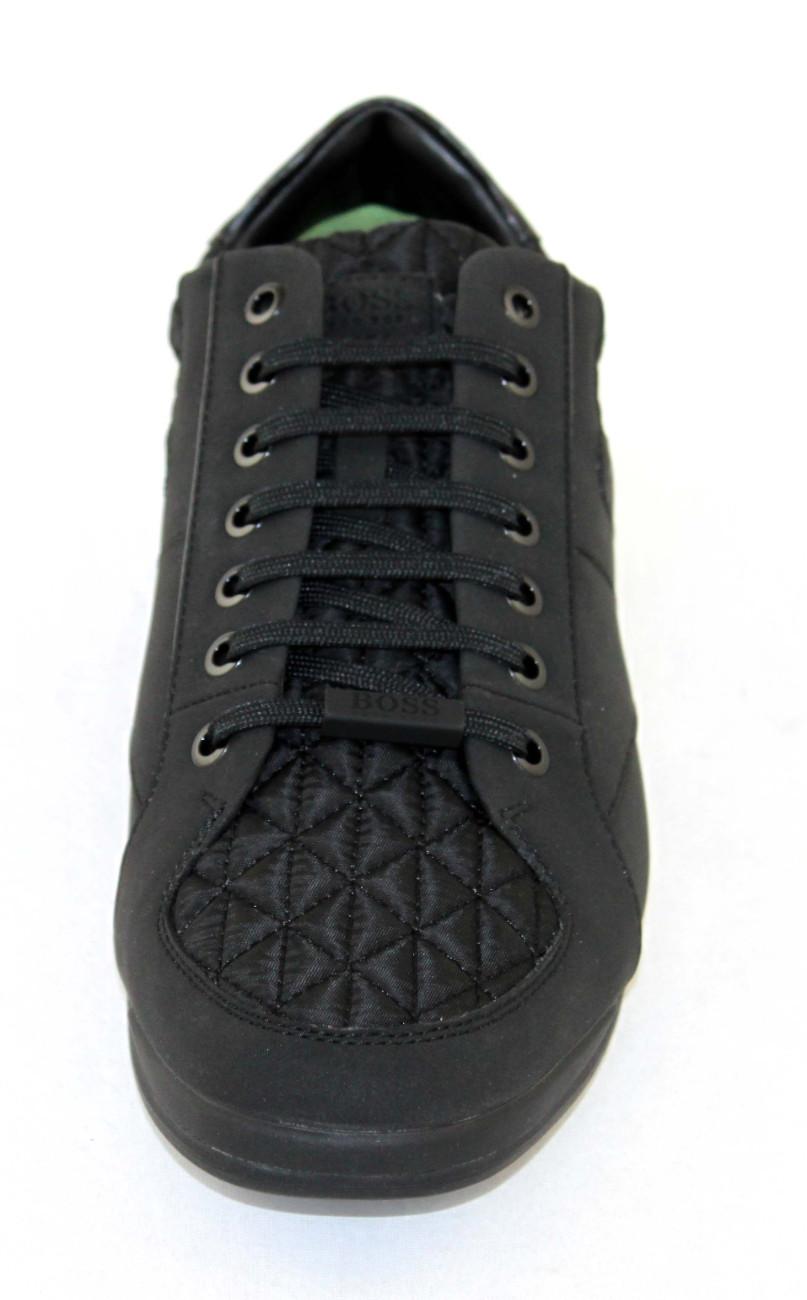 Hugo Boss Shoe verde Scarpe Shoe Boss Uomo Scarpe Sneaker 10212372 Nero 6e6d8e