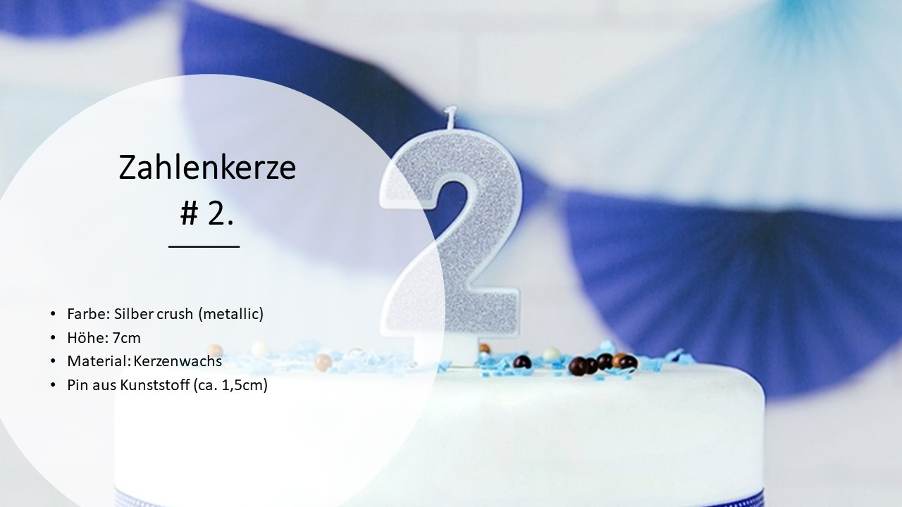 Number-Candles-Birthday-Candles-0-9-Candles-Birthday-Deco-kuchenkeren-Cake thumbnail 11