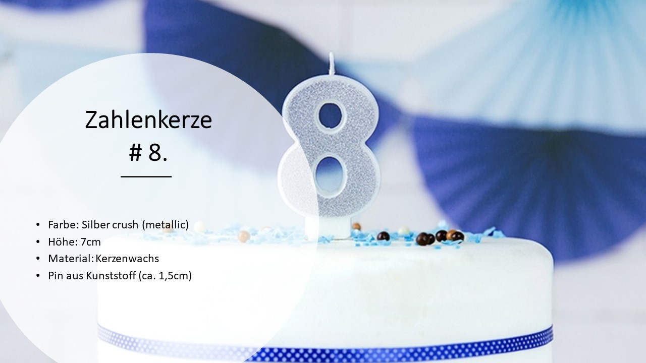 Number-Candles-Birthday-Candles-0-9-Candles-Birthday-Deco-kuchenkeren-Cake thumbnail 23