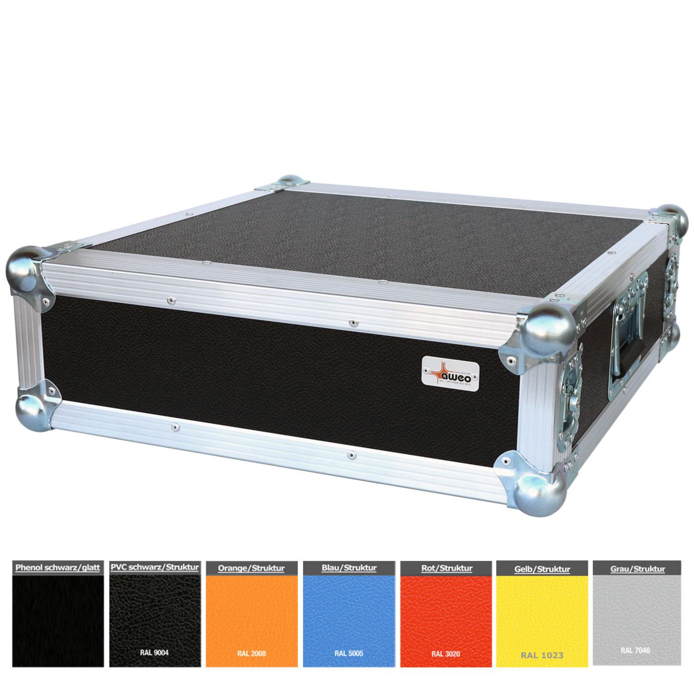 2 HE Half Size Rack für Sennheiser EW G1 G3 Funkempfänger Farbe wählbar