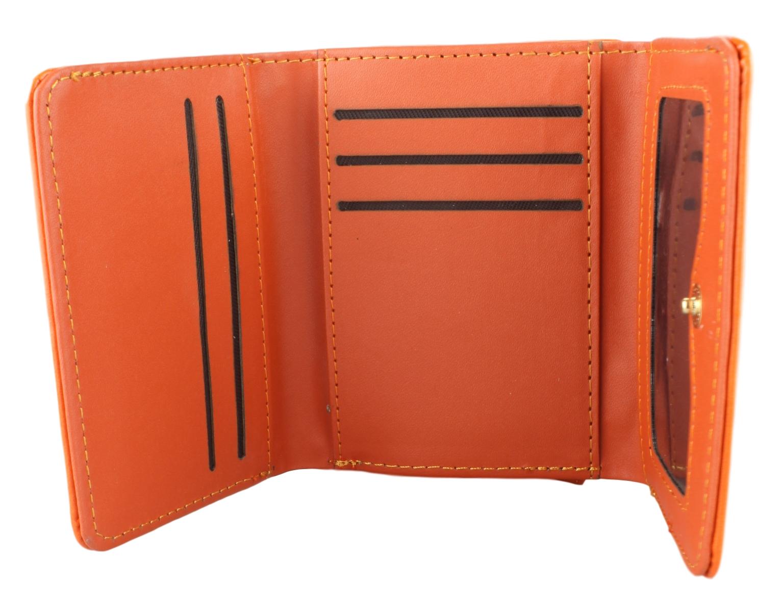 Kleine Damen Geldbörse Geldbeutel Portemonnaie Lack glänzend
