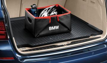Original BMW Gepäckraumformmatte Gepäckraummatte Gummimatte 5er F11-51472154480