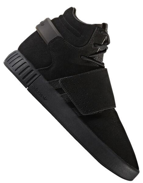 Details zu Adidas Tubular Invader Strap Adidas Schuh knöchelhoch schwarzschwarz