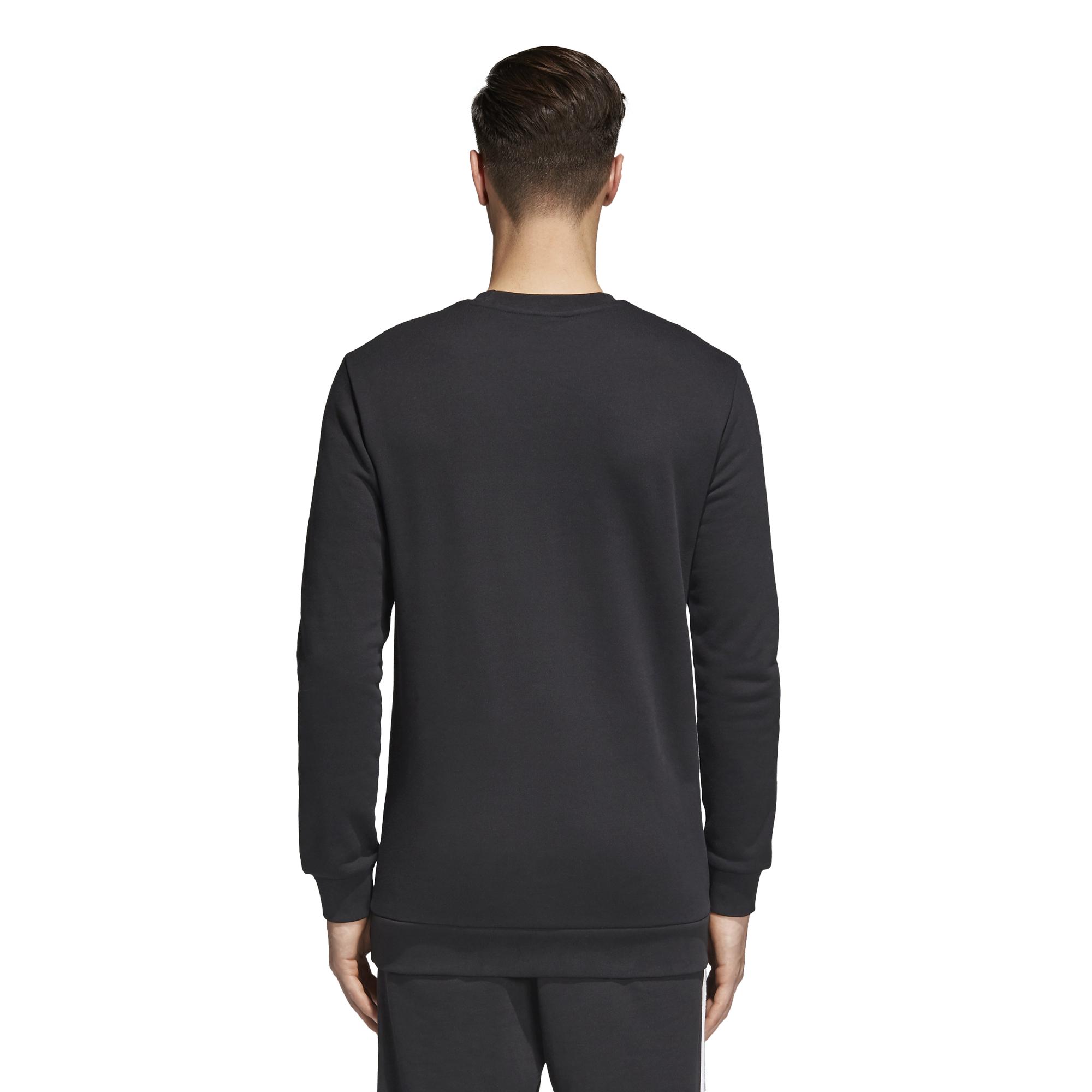 wholesale detailed look clearance prices Details zu Adidas Pullover Sweatshirt Crewneck Standard schwarz