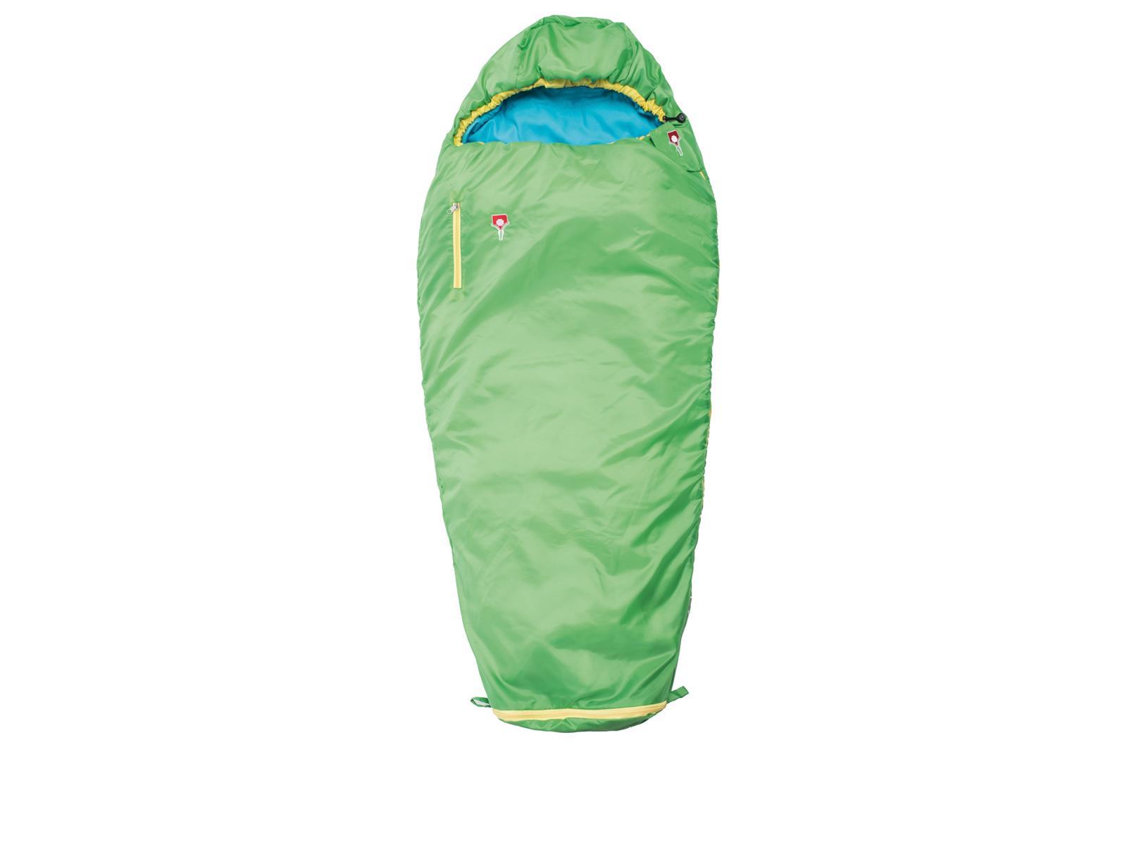 gut aussehen Schuhe verkaufen am besten authentisch hoch gelobt GRÜEZI BAG MITWACHSENDER Schlafsack Kinder Jugendliche Camping Zelten in  Grün