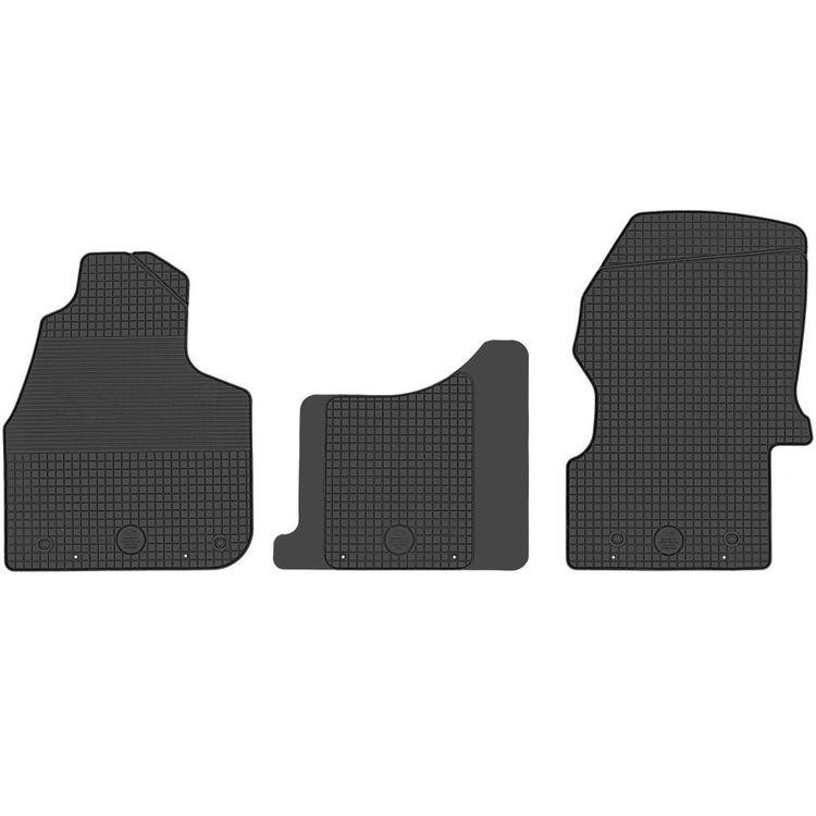 W906 2006-2018 Gummi-Fußmatten für MERCEDES-BENZ SPRINTER 2
