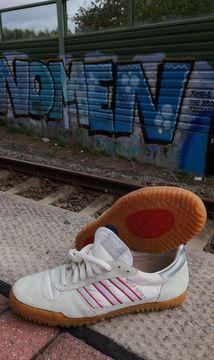 Details zu Adidas Indoor Super II Sneaker Trainers Schuhe Sport Casual Vintage 90s 80s 9 43