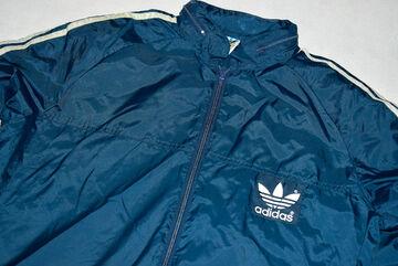 Adidas Regen Jacke Windbreaker Vintage 80s Rain Jacket Coat