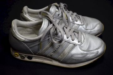 La Schuhe Details 2000 Zu 13 Silber Trainer Trainers Silver 39 Sport Adidas Sneaker PkwOXilZuT
