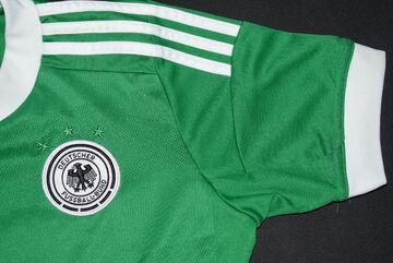 Details zu Adidas Deutschland Trikot Jersey DFB WM 2012 12 T Shirt Maglia Camiseta Grün 152