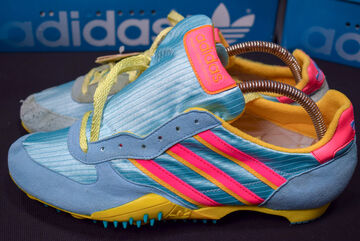 Sneaker 8 Nib Md Zu Sprinter Race Trainers Adidas Schuhe Details West Germany Vintage Neu f76YgyvbI