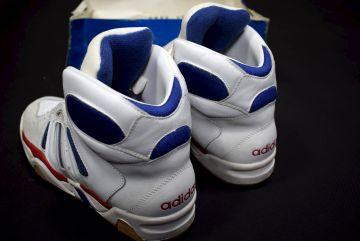 ADIDAS SNEAKER TRAINERS Sport Schuhe Vintage 90s 90er Gr.41