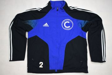 Adidas Trainings Jacke Sport Jacket Track Top Soccer Mesh