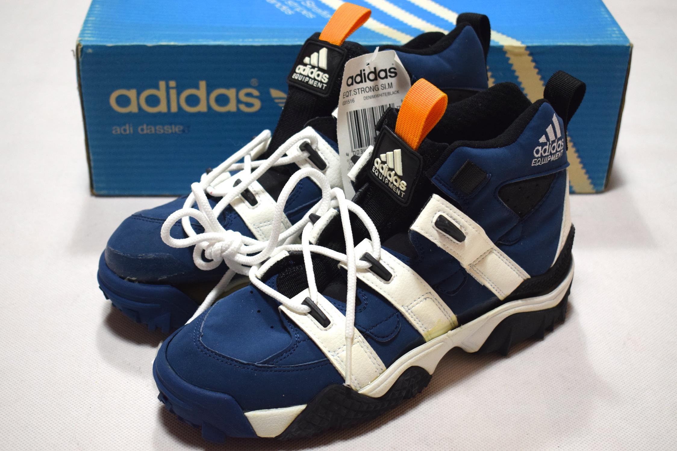 90s Sneaker Deadstock Mutombo Schuhe Vintage Sport Adidas Trainers n0N8mwvO
