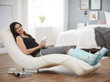 Haushaltsgeräte Sanitas Venen Massagegerät Stufen Luftkammern Luft Kompression Beine Elektrisch Beauty & Gesundheit
