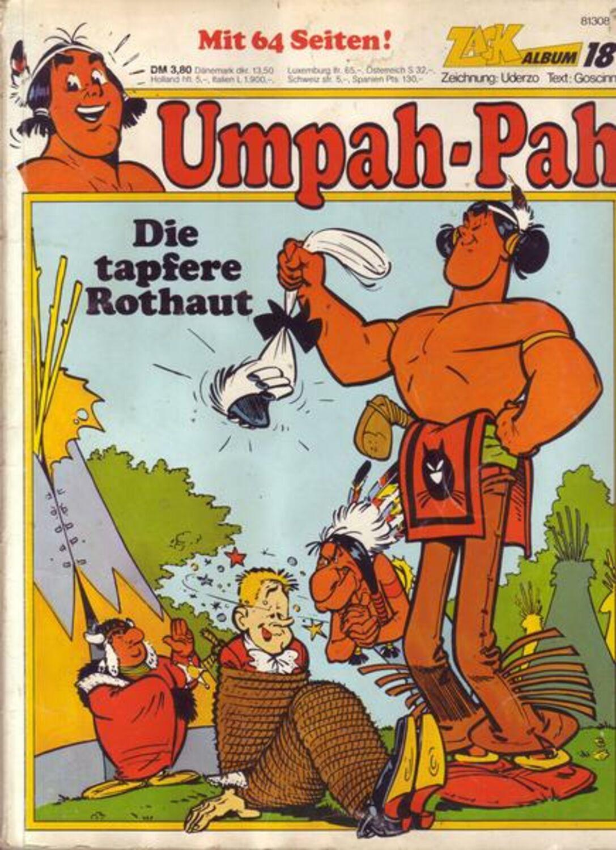 ZACK COMIC BOX Nr Die tapfere Rothaut 2 Umpah-Pah