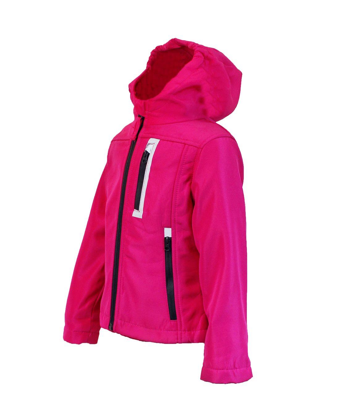 Niñera softschelljacke vellón de transición chaqueta chaqueta rosa