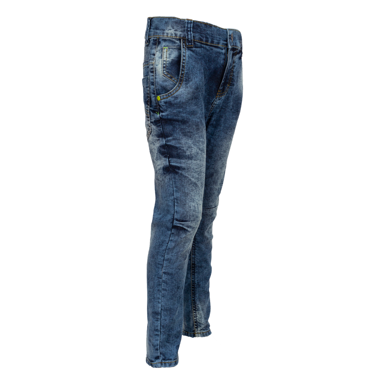 Boys Jeans Trousers Waistband Pants Trendjeans