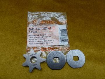 NEU Original Stihl Kettenrad 3//8 Picco 7Z HT 70 73 75 100 101 4138 642 1350