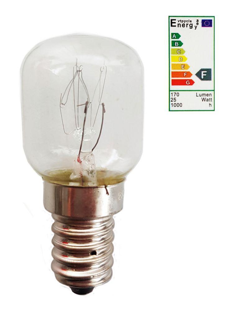 backofenlampe ofengl hbirne gl hbirne gl hlampe 220 230v e14 25 watt warmwei ebay. Black Bedroom Furniture Sets. Home Design Ideas