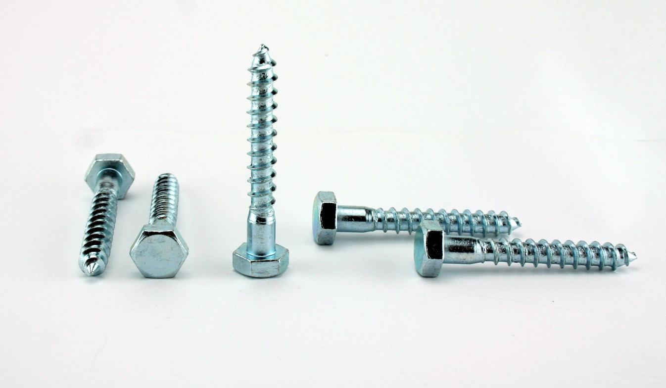 Sechskant-Holzschrauben-Holzschraube-Schluesselschraube-M6-M12-DIN-571-verzinkt