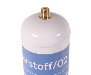 WELDINGER Sauerstoff Einwegflasche M12x1re 110bar Hartlöten Kleinschweißarbeiten