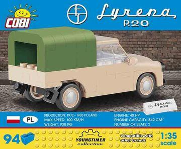 COBI Syrena R20 1:35 Yuongtimer Collection Lego Kompatibel 94 Teile Neu