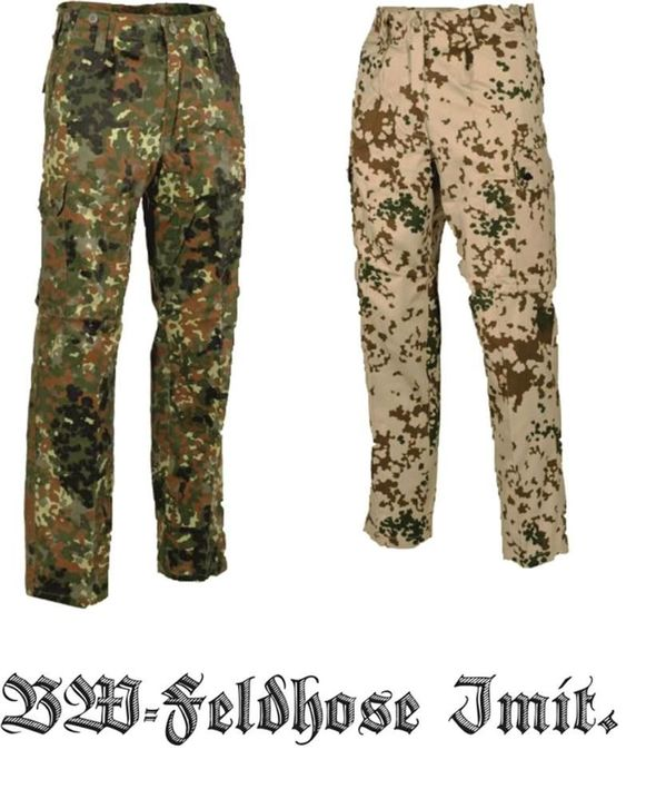 BW Feldhose NEU flecktarn oder wüstentarn tropentarn Bundeswehr hose ISAF