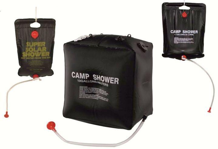 CAMP SHOWER SOLAR DUSCHE CAMPINGDUSCHE 10 LITER