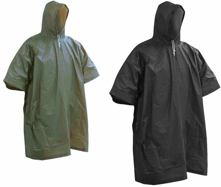 Regenponcho Regen Cap Tarp Regenschutz BW Poncho Ripp-Stop multitarn flecktarn