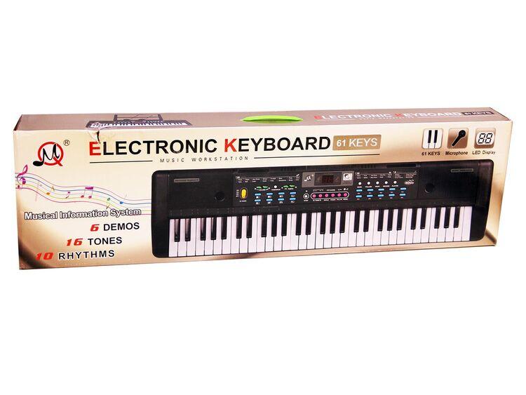Keyboard Multifunktions Digital Piano 61 Tasten Keyboard Set F/ür Kinder Geschenk,ideal f/ür Kinder und Einsteiger,umfangreiche Lernfunktion