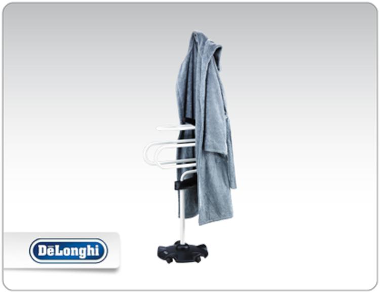 Delonghi scs elettrico supporto asciugamano scalda