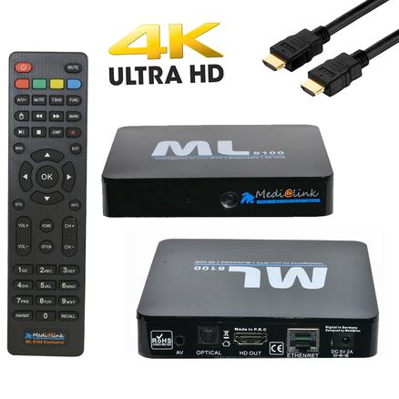 Linux Stalker Xtream 2160p Wifi Medialink MÜ M8 IPTV Box 4K UHD Android 7.1