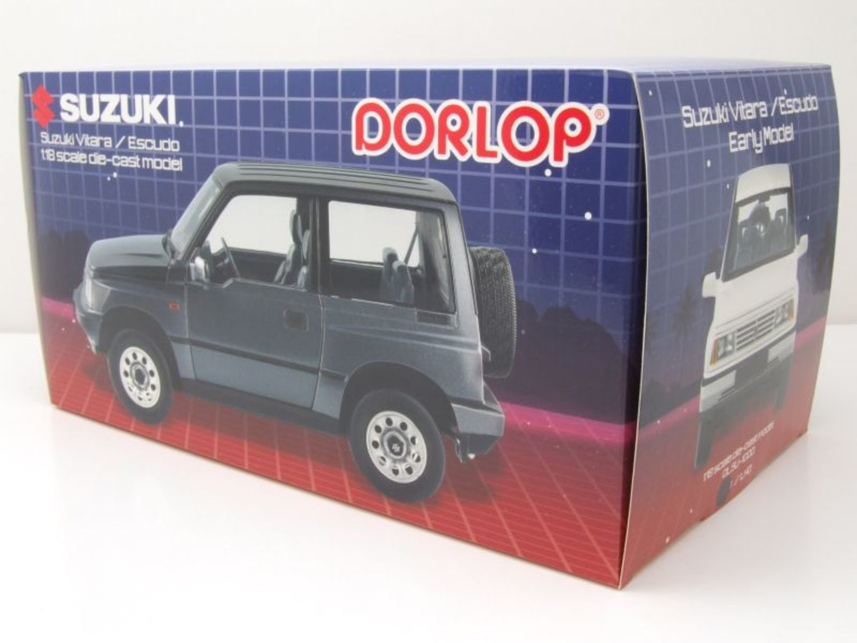 Suzuki Vitara Escudo LHD grau metallic Modellauto 1:18 Dorlop