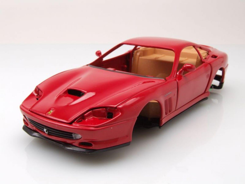 ferrari 550 maranello rot bausatz modellauto 1 24. Black Bedroom Furniture Sets. Home Design Ideas