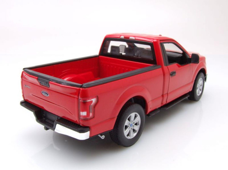 Ford F-150 Regular Cab Pick Up 2015 rot, Modellauto 1:24 / Welly | eBay