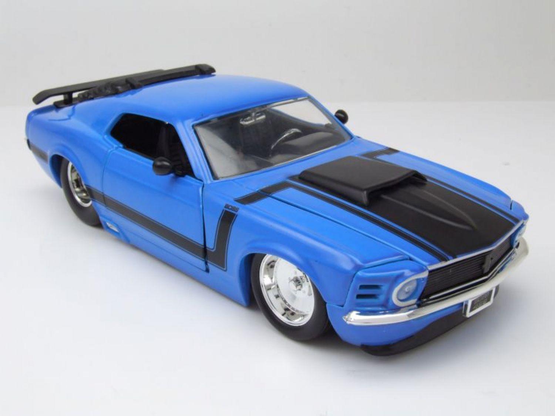 Ford Mustang Boss 429 1970 blau, Modellauto 1:24 / Jada Toys | eBay