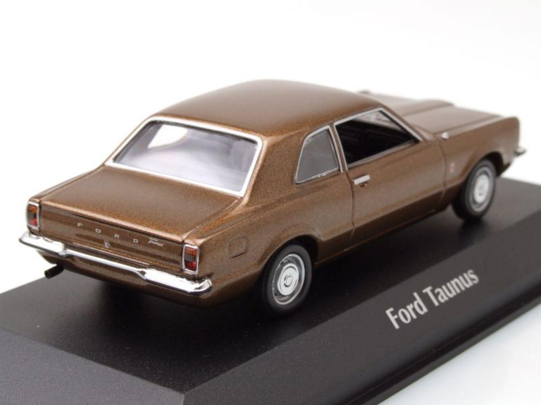 Ford taunus 1970 braun metallic modellauto 1 43 for Brisbane braun metallic ford