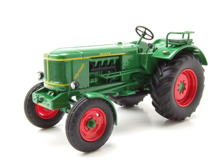 IFA rs-01 pionero tractor verde coche modelo 1:32 Schuco