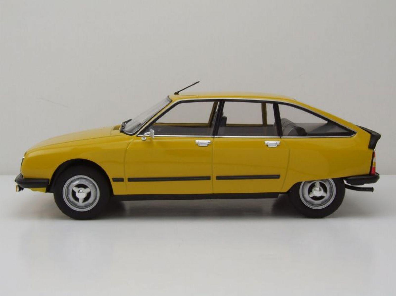 citroen gs x3 1979 jaune mod le de voiture 1 18 norev ebay. Black Bedroom Furniture Sets. Home Design Ideas