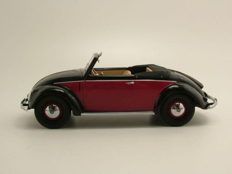 vw 1200 k fer hebm ller cabrio 1949 schwarz rot modellauto 1 18 minichamps 4012138125254 ebay. Black Bedroom Furniture Sets. Home Design Ideas