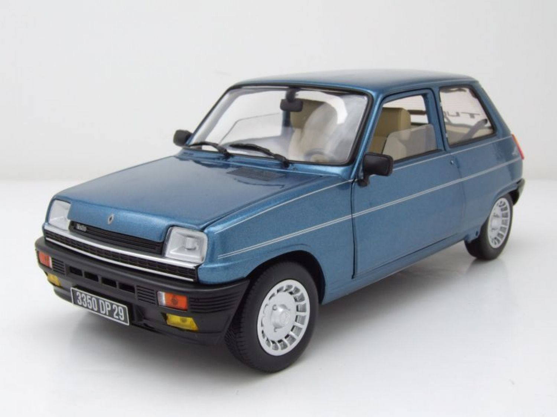 renault 5 alpine turbo 1981 blau metallic modellauto 1 18 norev ebay. Black Bedroom Furniture Sets. Home Design Ideas